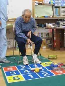 ゲートボールとゴルフでゲ-ゴルゲーム